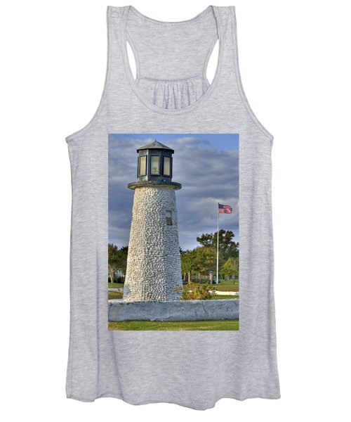 Old Buckroe Lighthouse Women's Tank Top