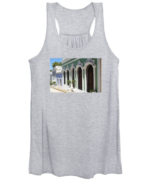 Old San Juan Street Women's Tank Top
