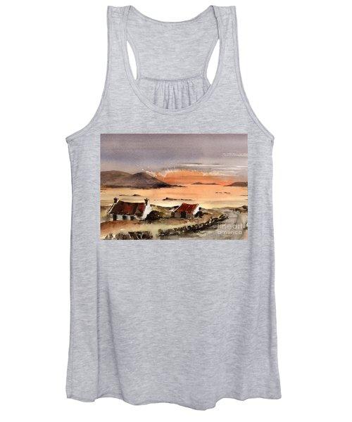 Omey Island Sunset Galway Women's Tank Top