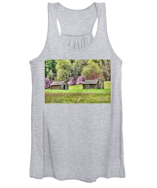 On A Hill At Valley Forge Women's Tank Top