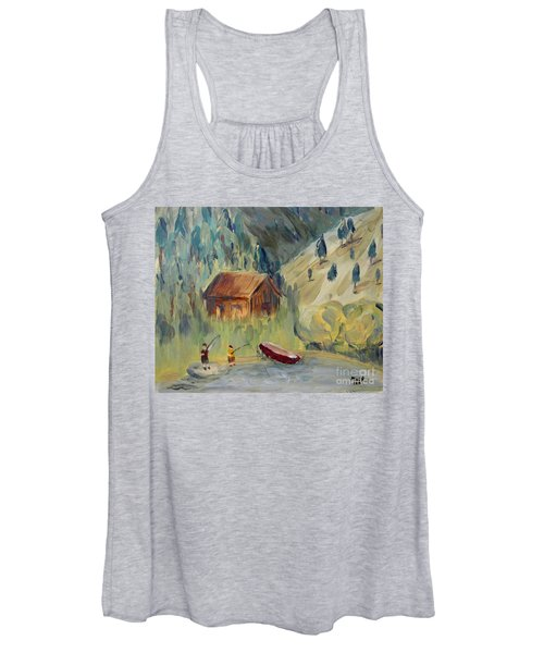 On The Lake Women's Tank Top