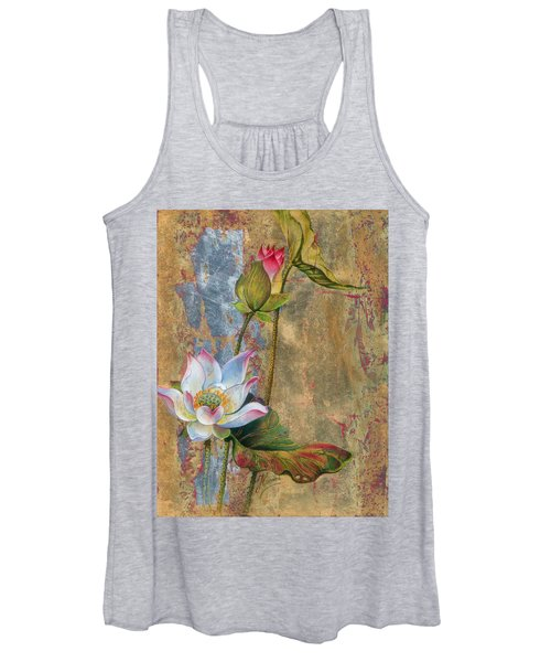 On The Silver Ray Women's Tank Top