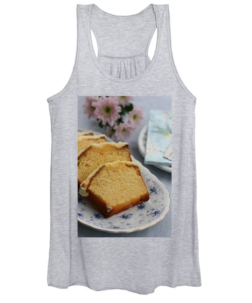 Orange Cake Women's Tank Top