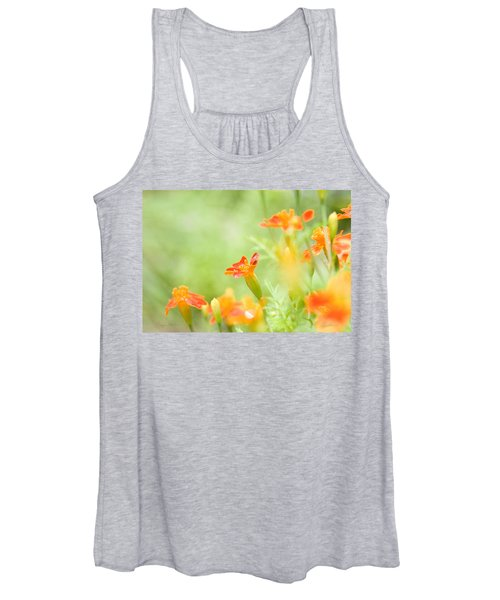Orange Meadow Women's Tank Top