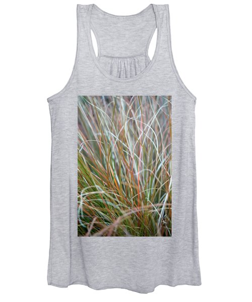 Ornamental Grass Abstract Women's Tank Top