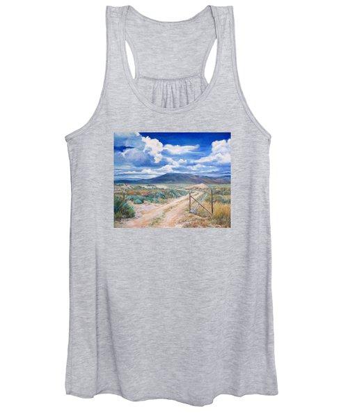 Osceola Nevada Ghost Town Women's Tank Top