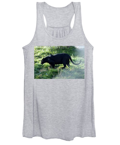 Out Of Africa  Black Panther Women's Tank Top