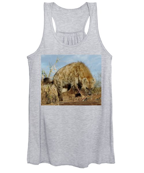 Out Of Africa Hyena 1 Women's Tank Top