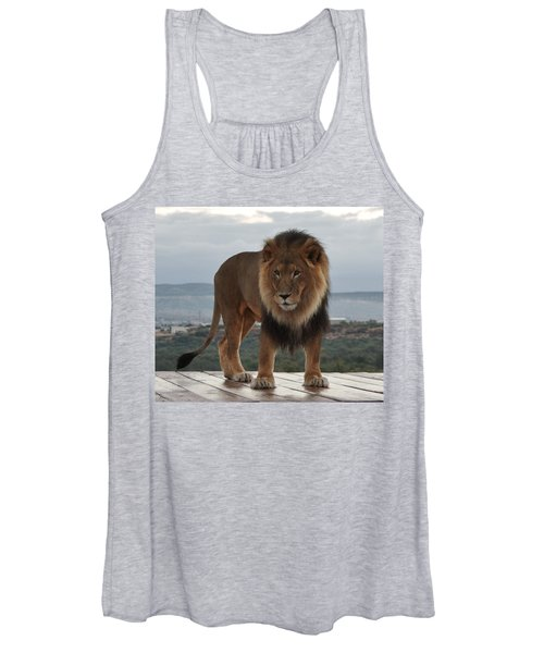 Out Of Africa Lion 3 Women's Tank Top