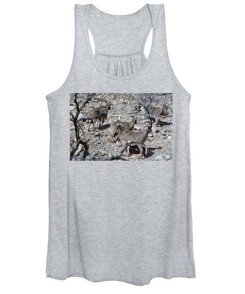 Out Of Africa  Mountain Goats Women's Tank Top