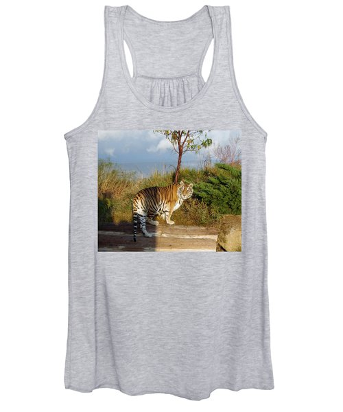 Out Of Africa  Tiger 1 Women's Tank Top