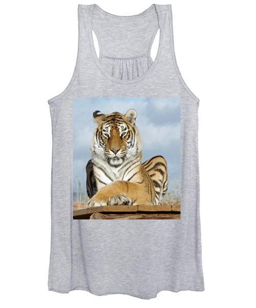 Out Of Africa Tiger 3 Women's Tank Top