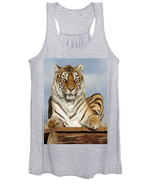 Out Of Africa Tiger 4 Women's Tank Top