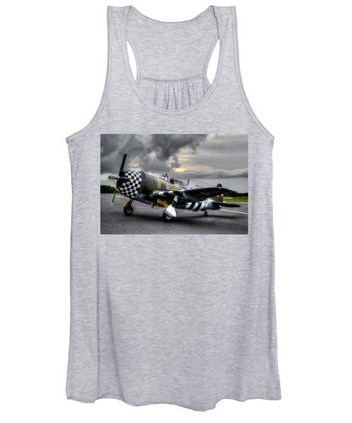 P-47 Sunset Women's Tank Top