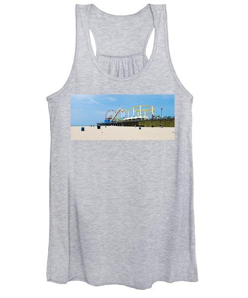 Pacific Park, Santa Monica Pier, Santa Women's Tank Top