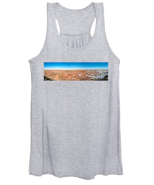 Painted Desert, Petrified Forest Women's Tank Top
