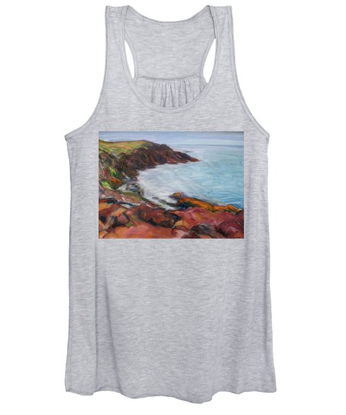 Painterly - Bold Seascape Women's Tank Top