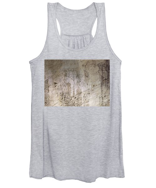 Painting West Wall Tomb Of Ramose T55 - Stock Image - Fine Art Print - Ancient Egypt Women's Tank Top