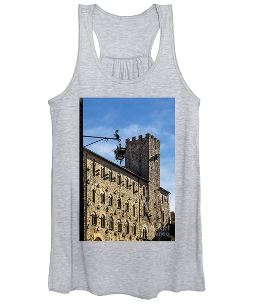 Palazzo Pretorio And The Tower Of Little Pig Women's Tank Top