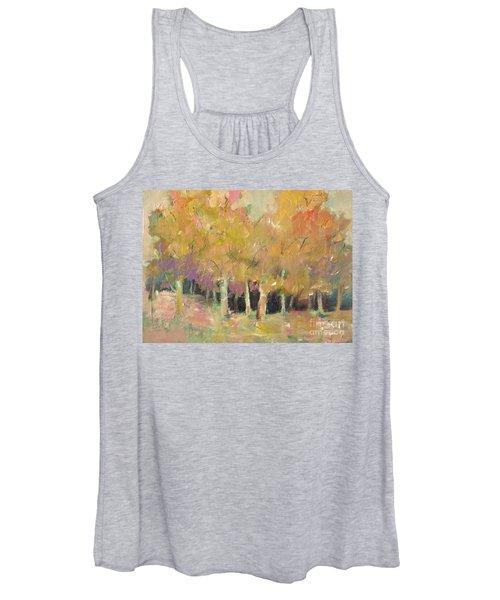 Pale Forest Women's Tank Top