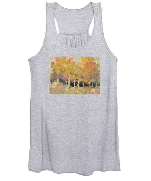 Pale Forest Women's Tank Top
