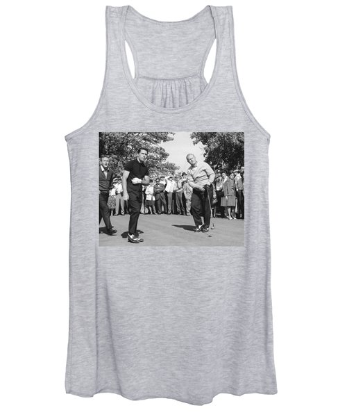 Palmer, Player And Nicklaus Women's Tank Top