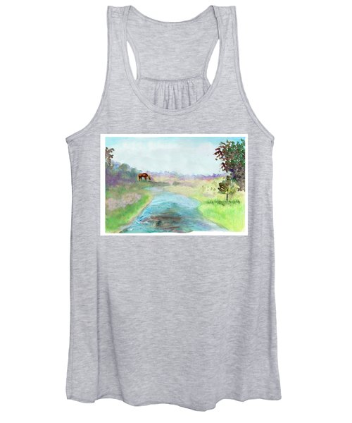 Peaceful Day Women's Tank Top