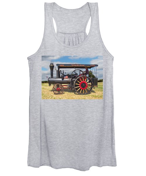 Peerless Steam Traction Engine Women's Tank Top