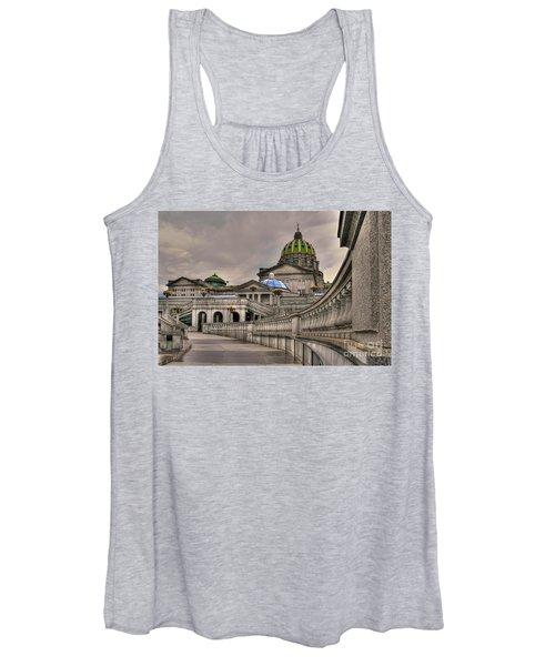 Pennsylvania State Capital Women's Tank Top