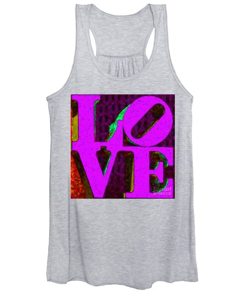Philadelphia Love - Painterly V2 Women's Tank Top