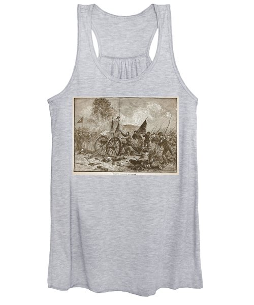 Picketts Charge At Gettysburg Women's Tank Top