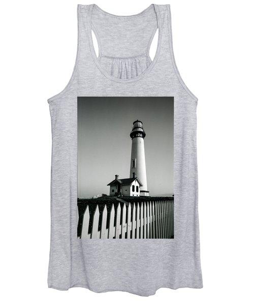Pigeon Point Lighthouse Women's Tank Top