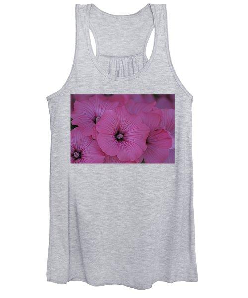 Pink Petunia Women's Tank Top