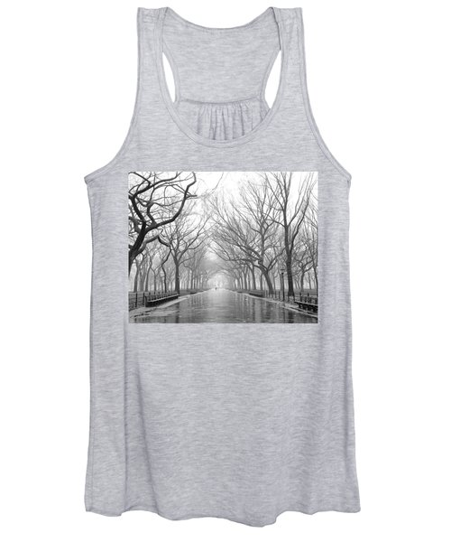 New York City - Poets Walk Central Park Women's Tank Top