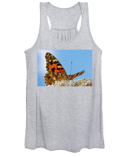 Portrait Of A Butterfly Women's Tank Top