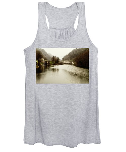 Power Plant On River Women's Tank Top