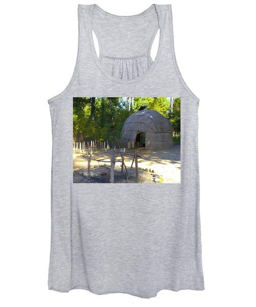 Women's Tank Top featuring the photograph Powhatan Lodge 2 by John Feiser