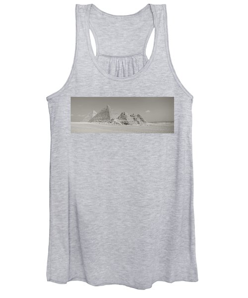 Pyramids Of Giza, Egypt Women's Tank Top