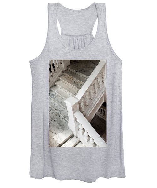 Raffle's Hotel Marble Staircase Women's Tank Top