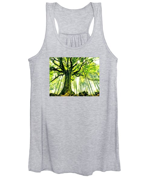 Raised By The Light Women's Tank Top