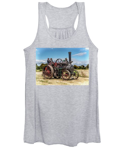 Ransomes Steam Engine Women's Tank Top
