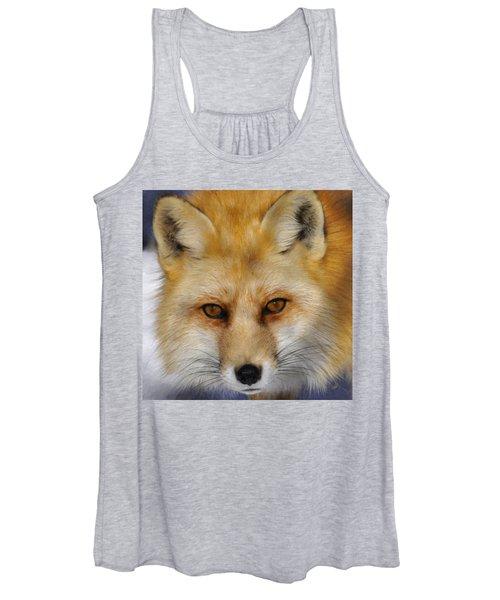 Red Fox Women's Tank Top