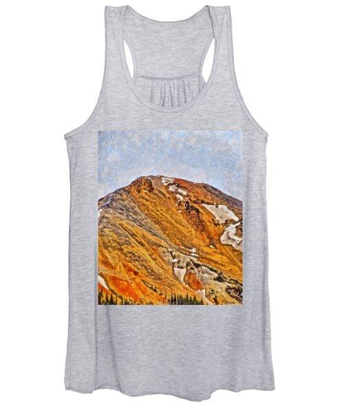 Red Mountain Pass Colorado Women's Tank Top