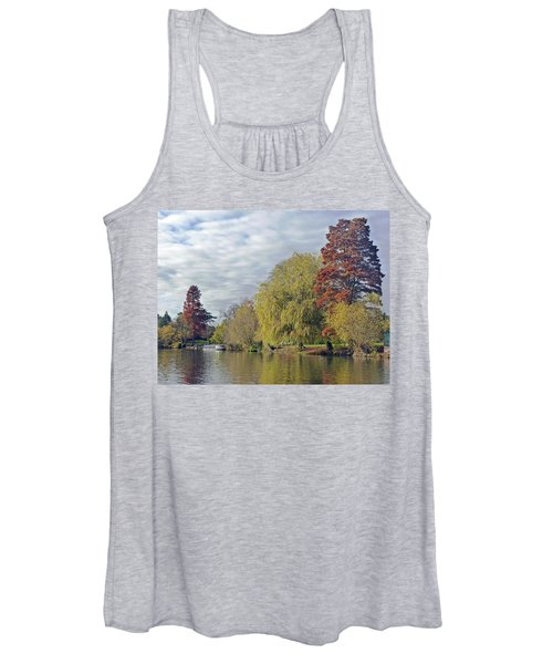 River Avon In Autumn Women's Tank Top