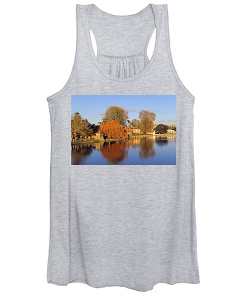 River Thames At Marlow Women's Tank Top