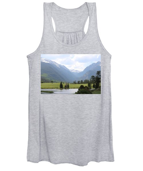 Rocky Mountain National Park  Women's Tank Top