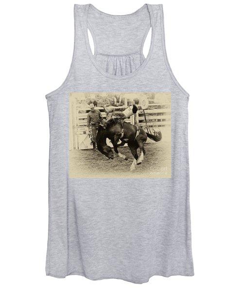 Rodeo Rocket Man Women's Tank Top