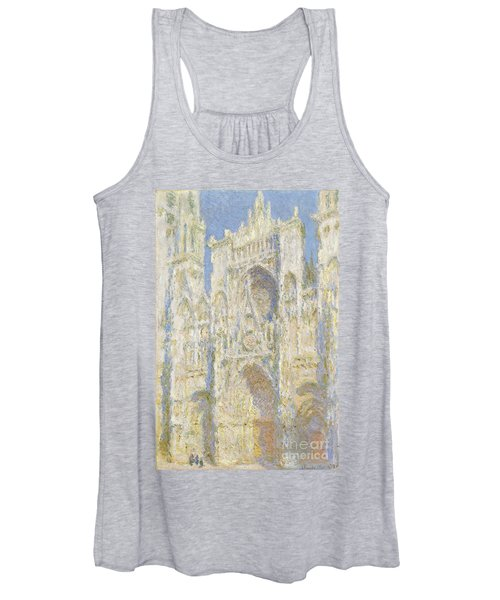 Rouen Cathedral West Facade Women's Tank Top
