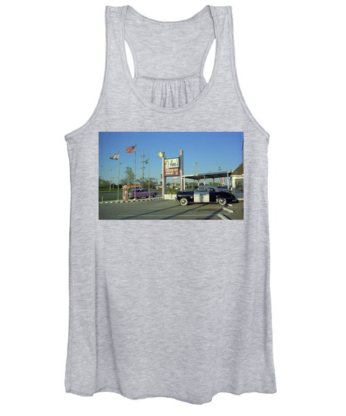 Route 66 - Anns Chicken Fry House Women's Tank Top
