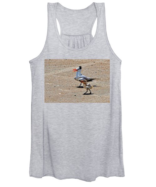 Royal Tern With Chick Women's Tank Top